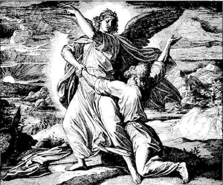 lupta cu îngerul