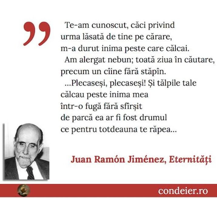 Juan Ramon Jimenez Eternitati