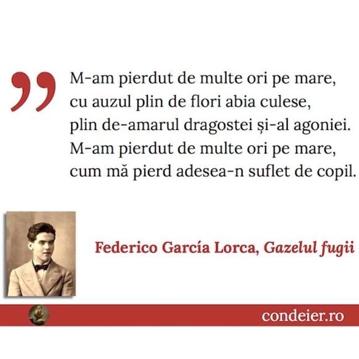 Lorca Gazelul Fugii