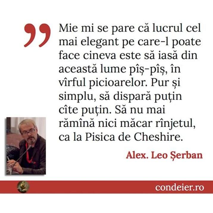 citat Alex Leo Serban
