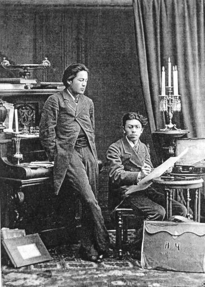 Anton și Nikolai Cehov